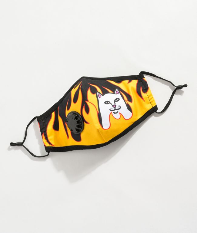 RIPNDIP Welcome 2 Heck Face Mask