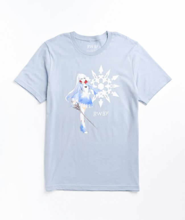 RWBY Weiss Icy Blue T-Shirt