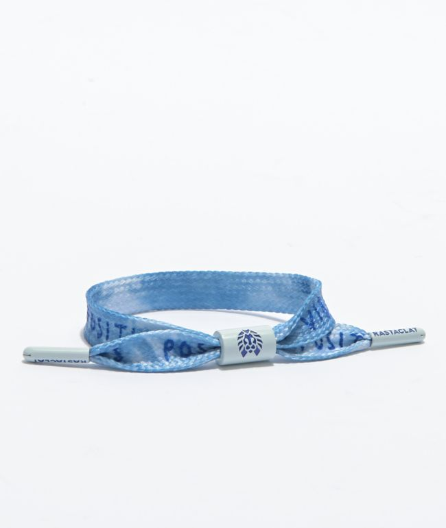 Rastaclat Positive Vibes Light Blue Bracelet