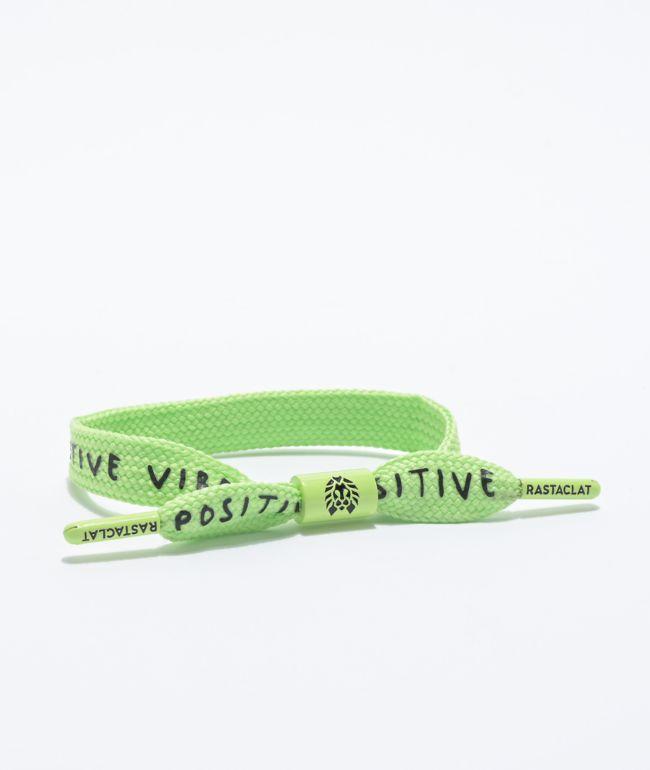 Rastaclat Positive Vibes Lime Green Bracelet