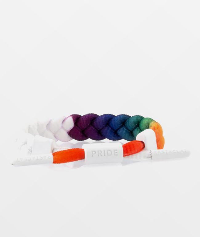 Rastaclat Pride White Bracelet