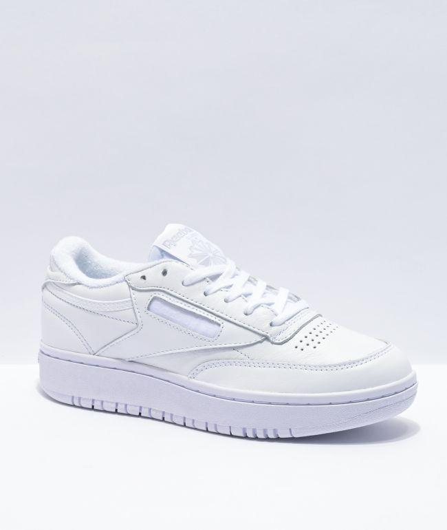 Reebok Club C Double White Shoes