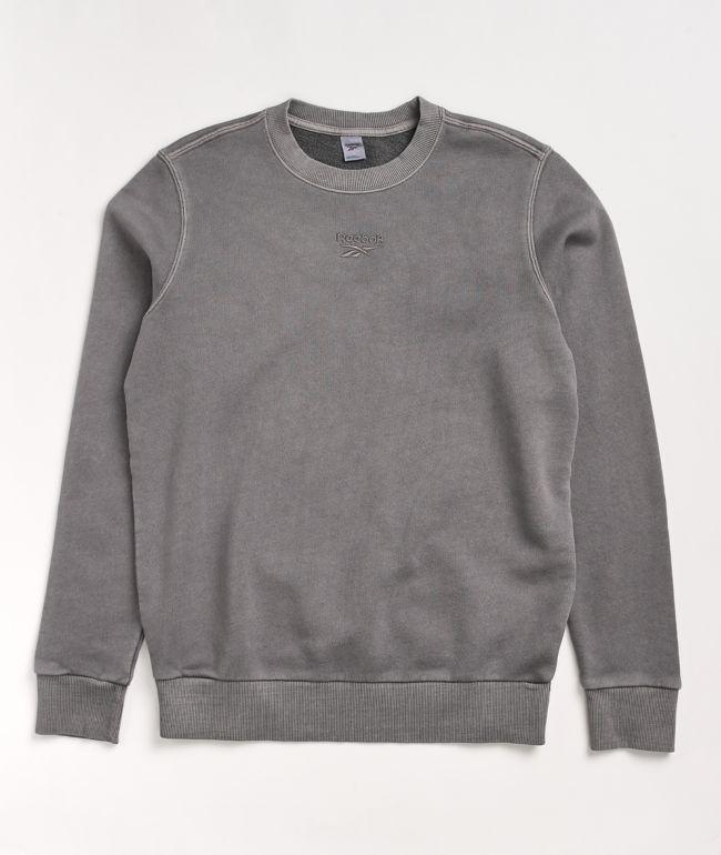Reebok Washed Purple Crew Neck Sweatshirt