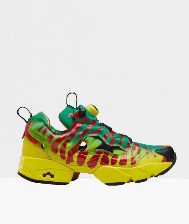 Reebok x Jurassic Park Instapump Fury Shoes
