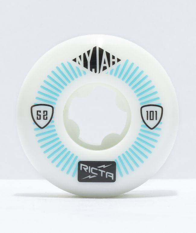 Ricta Nyjah Pro Super Slim 52mm 101a Skateboard Wheels