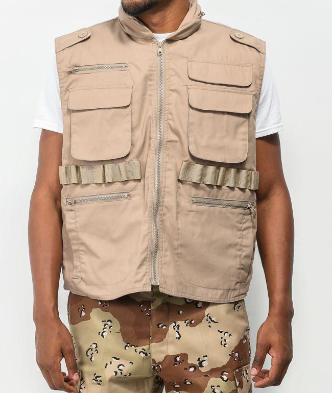 Rothco Ranger Khaki Utility Vest
