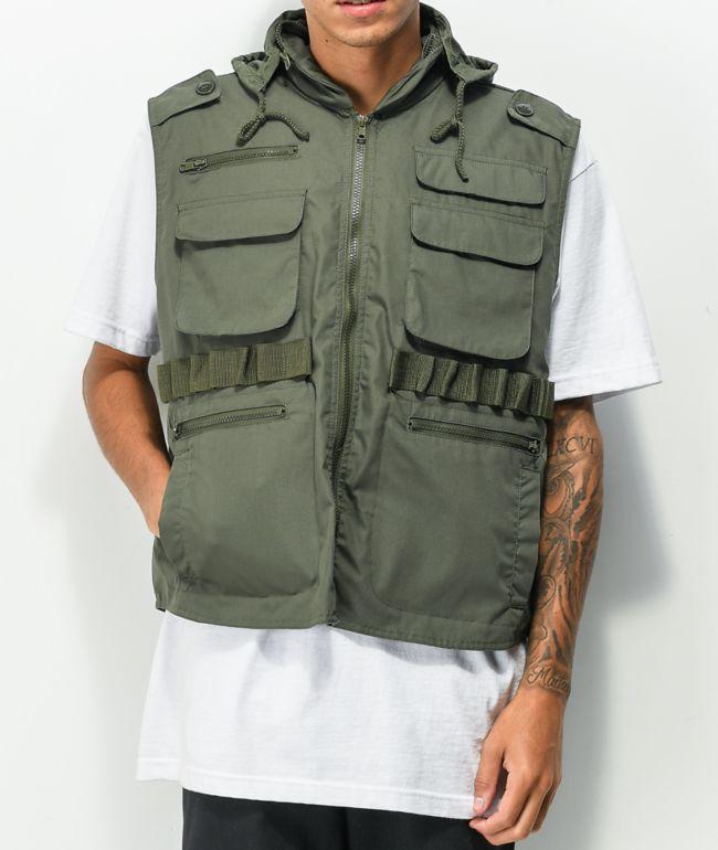 Rothco Ranger Olive Utility Vest