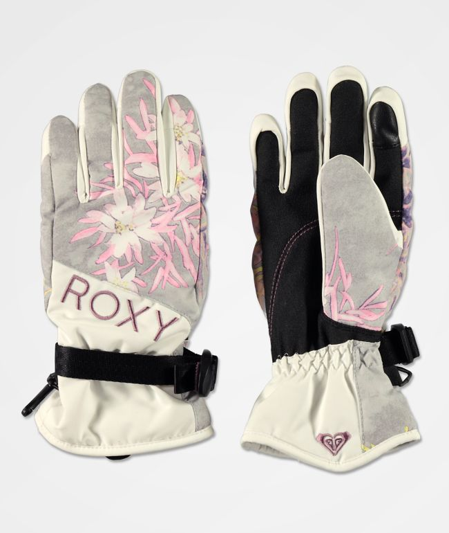 Roxy Jetty Micro Chip Snowboard Gloves