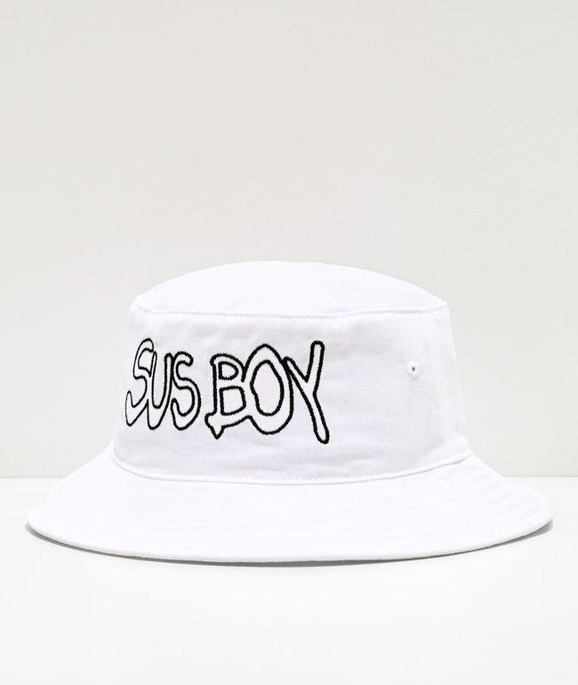 SUS BOY White Bucket Hat