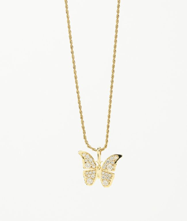 Butterfly chain gold