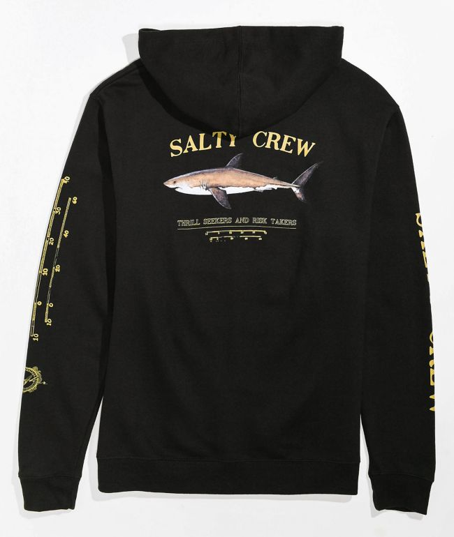 Salty Crew Boys Bruce Black Hoodie