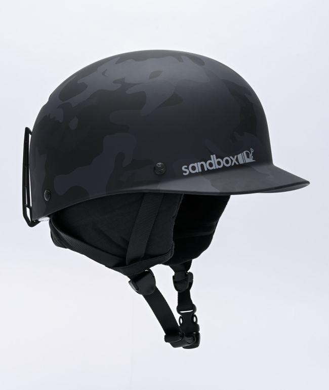 Sandbox Classic 2.0 Black Camo Snowboard Helmet