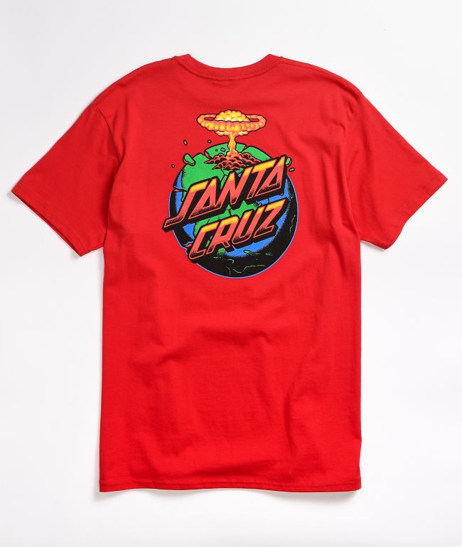 Santa Cruz Doom Dot Red T-Shirt