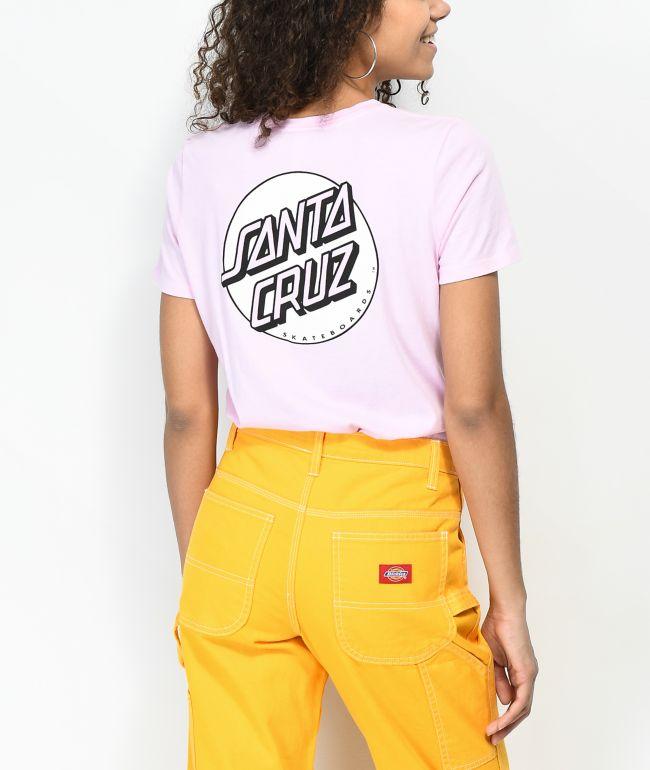 Santa Cruz Missing Dot camiseta rosa