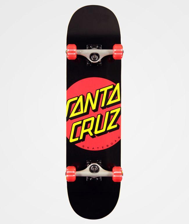 """Santa Cruz Red Dot 8.0"""" Skateboard Complete"""