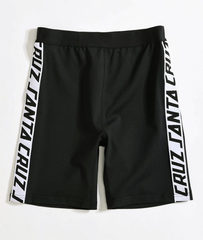 Santa Cruz SC Strip Black Bike Shorts