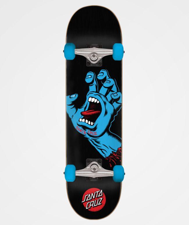 "Santa Cruz Screaming Hand 8.0"" Skateboard Complete"