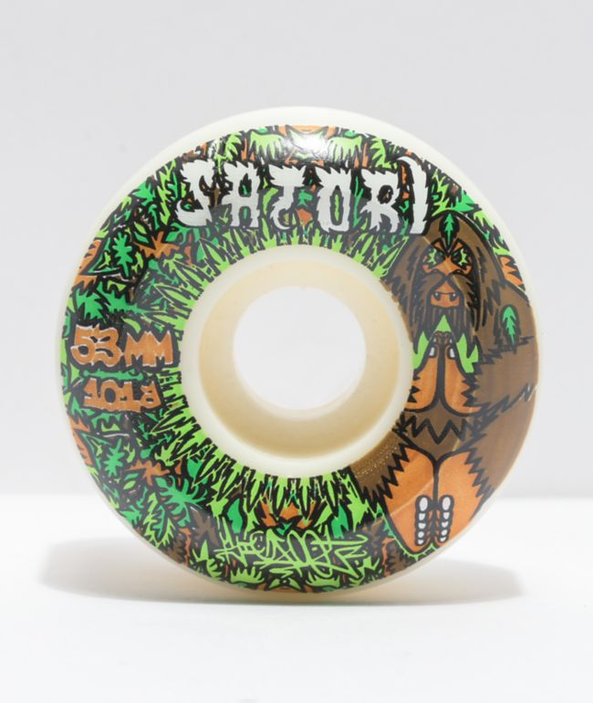 Satori Bigfoot 53mm 101a Conical Skateboard Wheels
