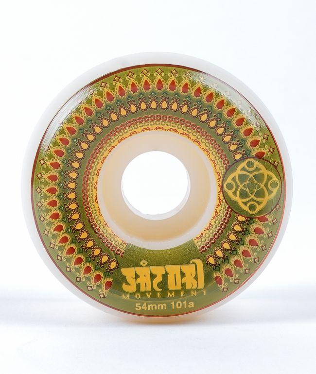 Satori Mandala 54mm 101a ruedas de patineta verdes