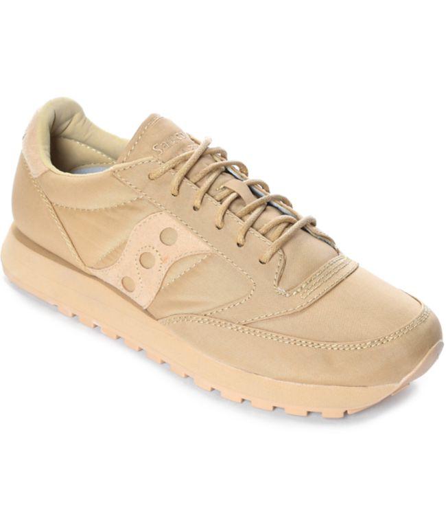 Saucony Jazz O Mono Tan Shoes | Zumiez.ca