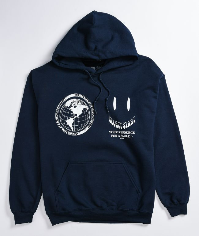 Select Start Happiness Navy Hoodie