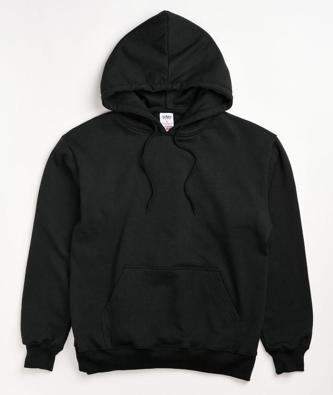 Shaka Wear Heavyweight Fleece Black Hoodie