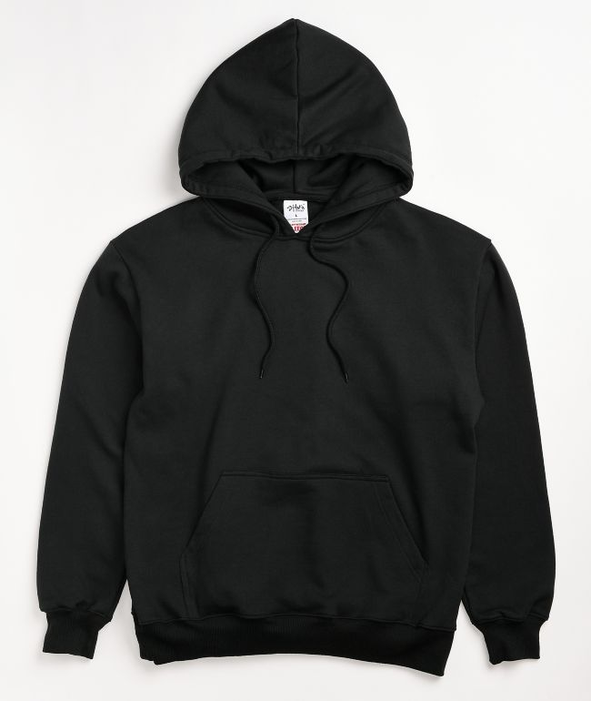 Shaka Wear Heavyweight Fleece Black Hoodie