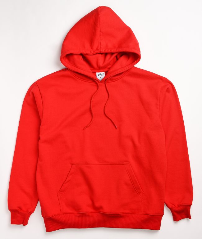 Shaka Wear Heavyweight Red Hoodie