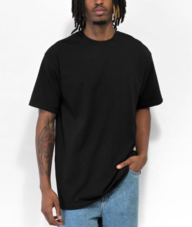 Shaka Wear Max Heavy Weight Black T-Shirt