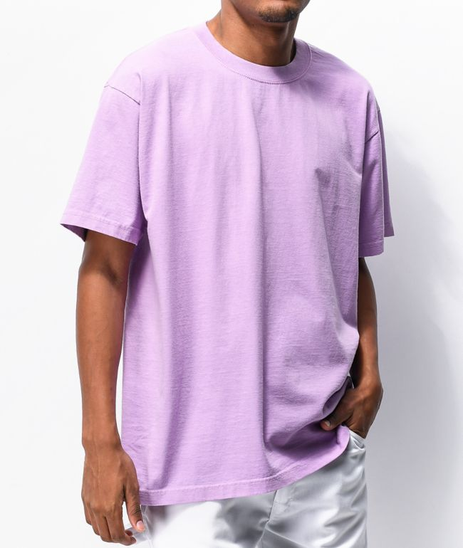 Shaka Wear Max Heavy Weight Garment Dye Purple T-Shirt