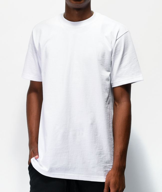 Shaka Wear Max Heavy White T-Shirt