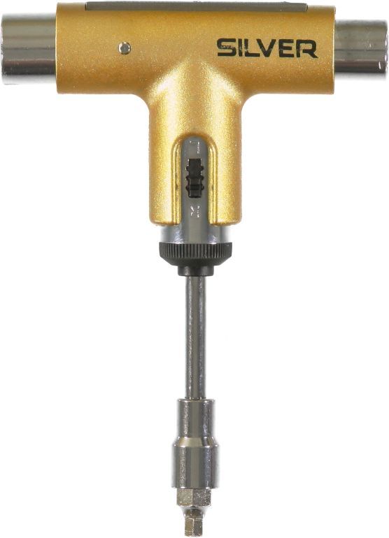 Silver Gold Skate Tool