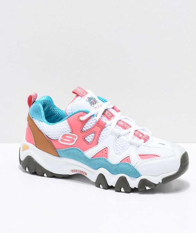 skechers pink shoes