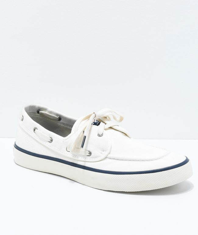 Sperry Captains 2-Eye White Shoes | Zumiez