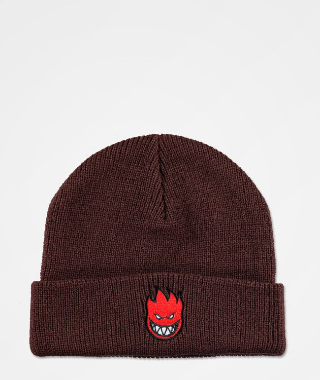 Spitfire Bighead Fill Brown Beanie