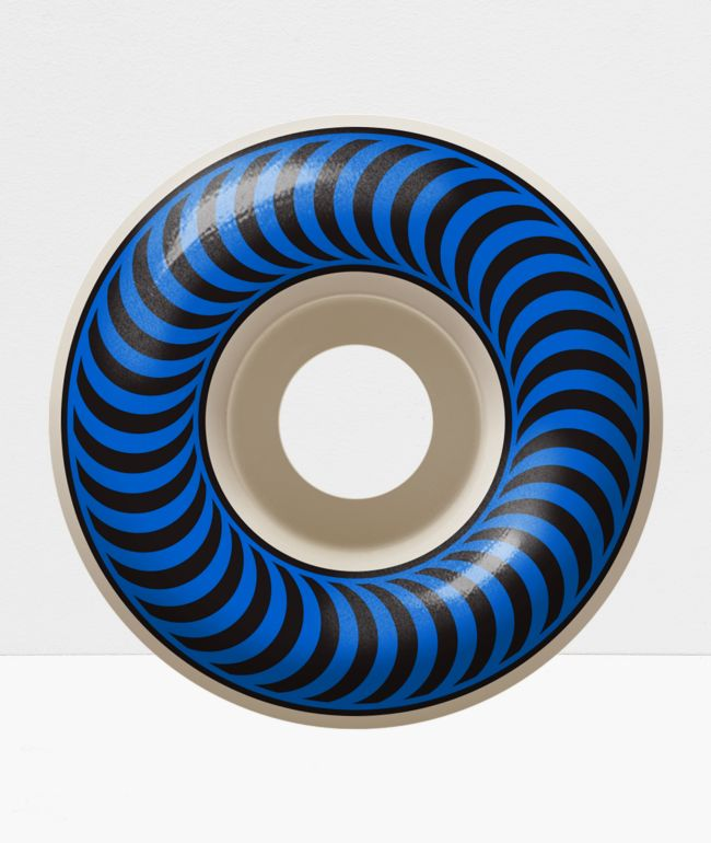 Spitfire Classic 56mm 99a Blue & Black Skateboard Wheels