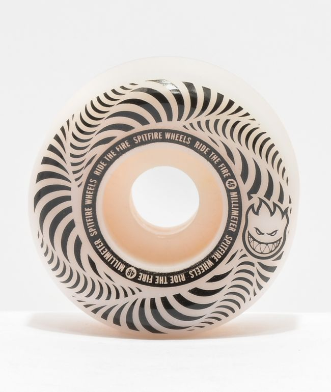 Spitfire Flashpoint 48mm 99a Natural Skateboard Wheels
