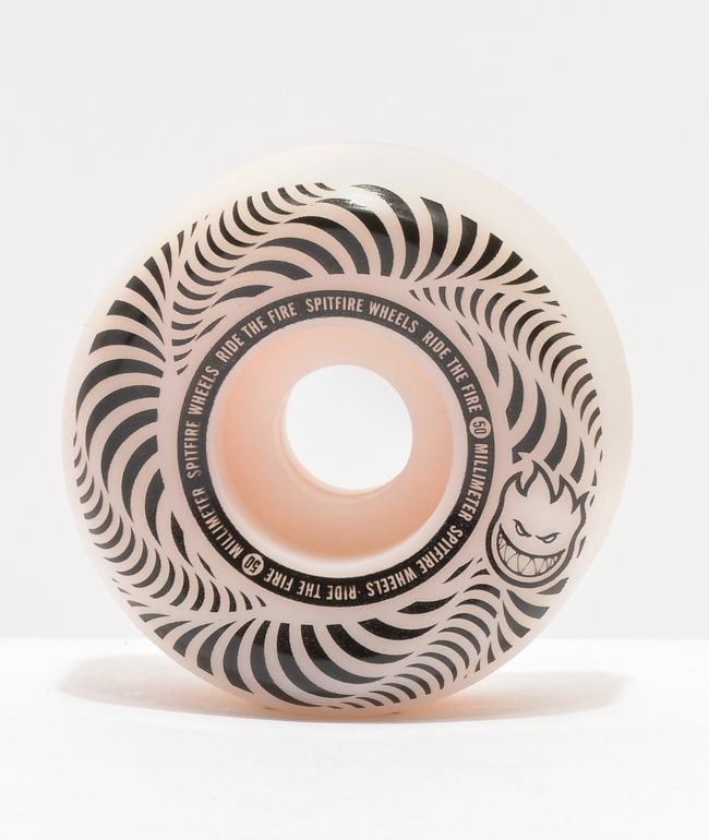 Spitfire Flashpoint 50mm 99a Natural Skateboard Wheels
