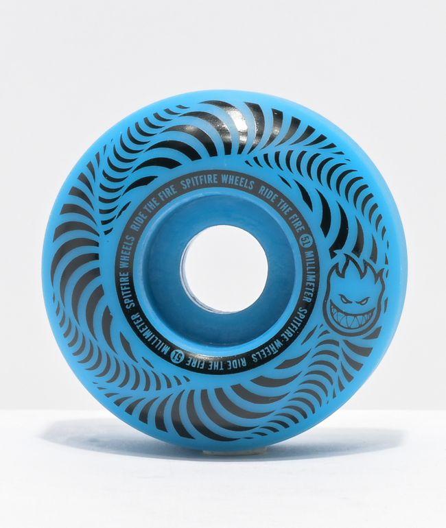 Spitfire Flashpoint 51mm 99a Blue Skateboard Wheels