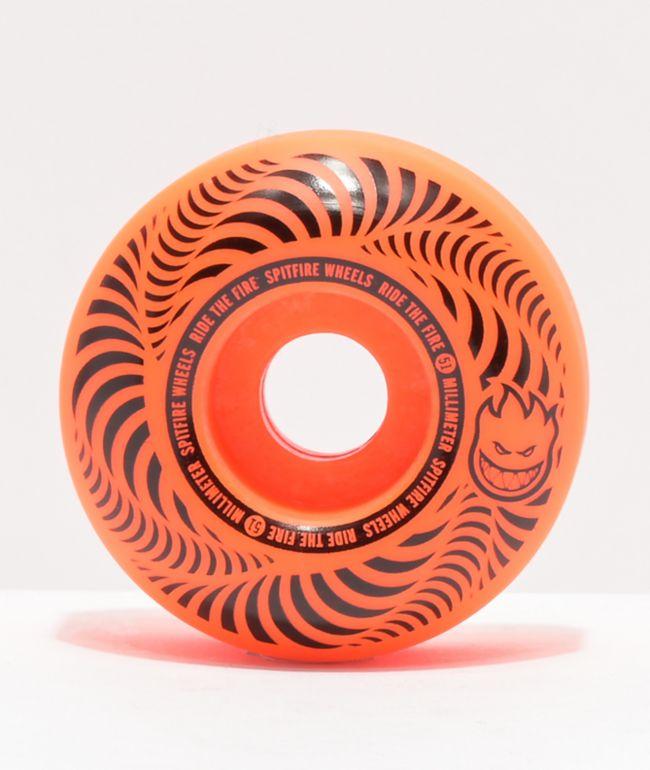 Spitfire Flashpoint 51mm 99a Orange Skateboard Wheels