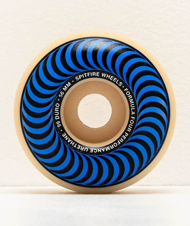 Spitfire Formula Four Classics Swirl 56mm 99a Skateboard Wheels