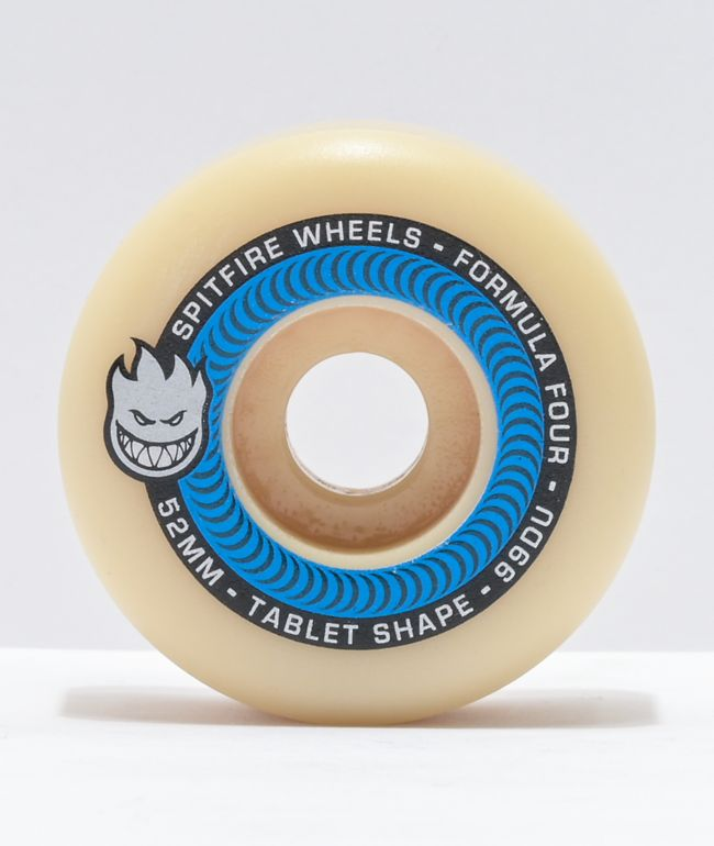 Spitfire Formula Four Tablets 52mm 99a Natural Skateboard Wheels