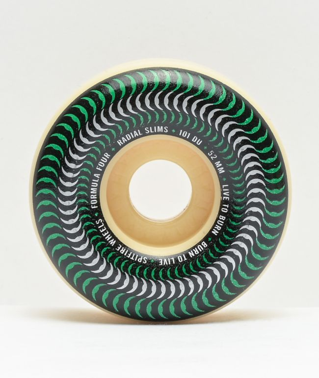 Spitfire Venomous Radial Slims 52mm 101a Skateboard Wheels