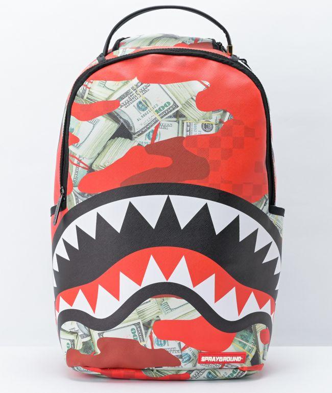Sprayground Panic Attack Vegan Leather Backpack