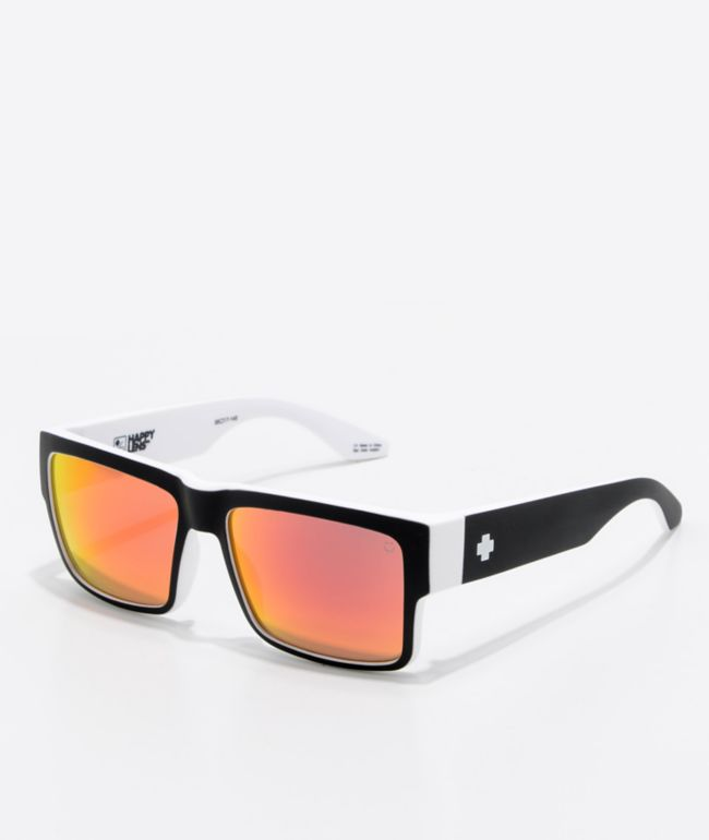 Spy Cyrus Whitewall Red Spectra Sunglasses