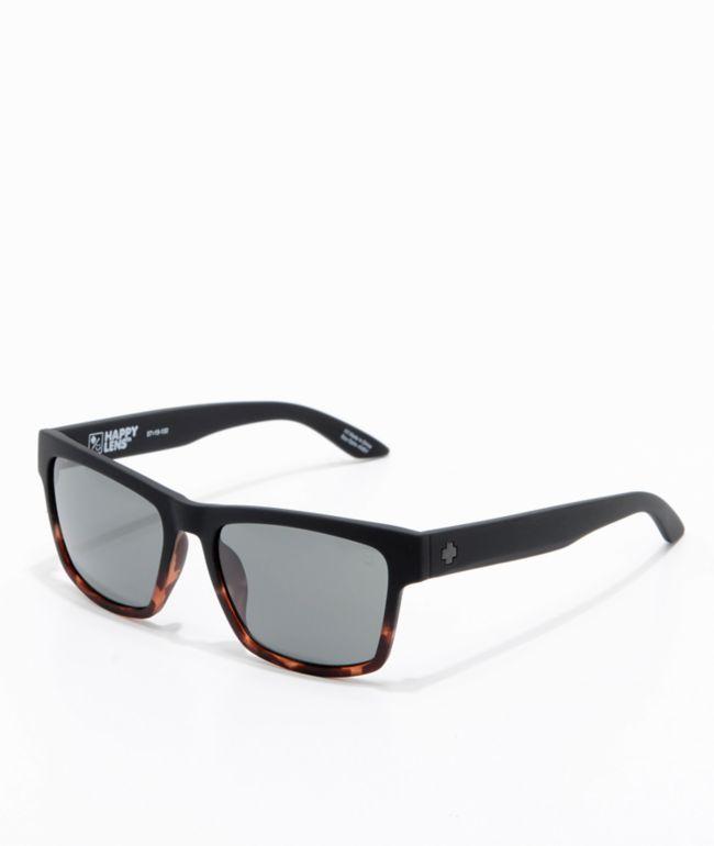 Spy Haight 2 Soft Matte Black Tortoise Sunglasses