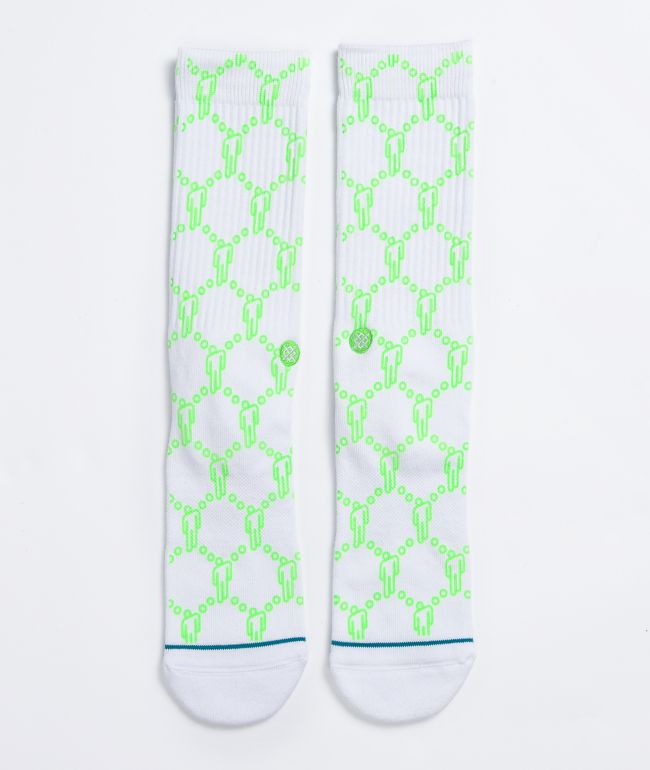 Stance x Billie Eilish Blohsh White Crew Socks