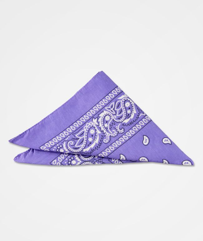 Stone + Locket Classic Purple Bandana