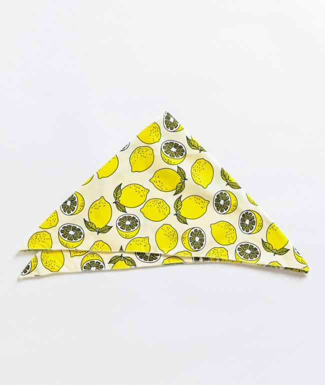 Stone + Locket Lemon Bandana