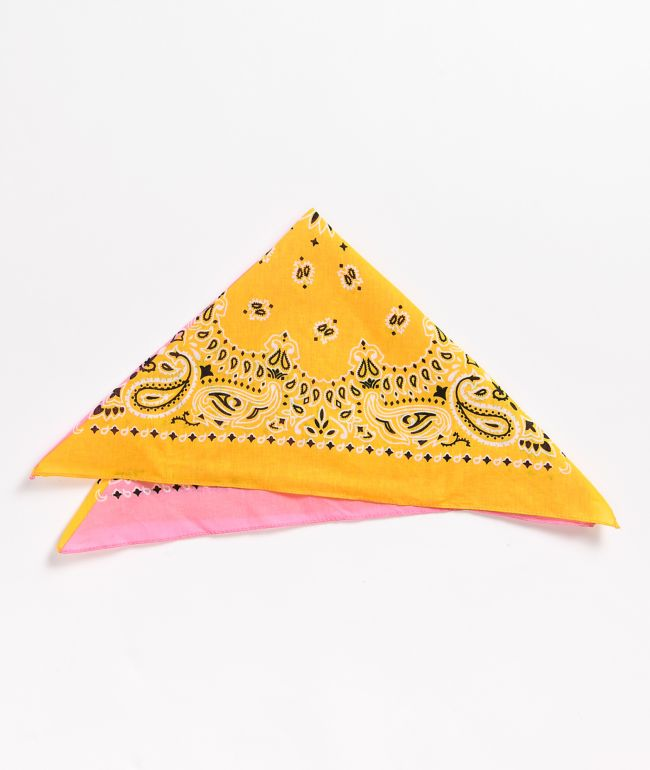 Stone + Locket Strawberry Banana Split Bandana
